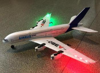 2019 new WLtoys Airbus A380 airplane toys 2.4G 3Ch RC airplane Fixed Wing Plane Outdoor toys Drone  A120-A380  rc plane toys new slick 60cc 80cc 91 gasoline radio controlled rc airplane model balsa wood fixed wing plane