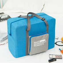 Large-capacity Foldable Travel Duffel Bags Clothes Storage Bag Waterproof Men Overnight Hand Luggage