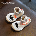 2016 зима новый обувь для девочек дышащая Моды милые плоским принцесса малыш сапоги мальчиков домашние тапочки Супер мягкие и удобные