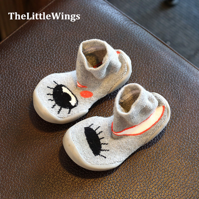 2016 winter new girls shoes breathable Fashion cute flat princess kid boots boys home slippers Super soft and comfortable Girl's Shoes