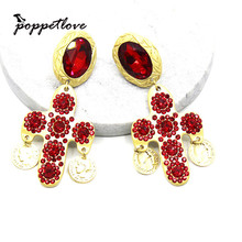Buy red cross earrings and get free shipping on AliExpress.com c3611ff08a6e