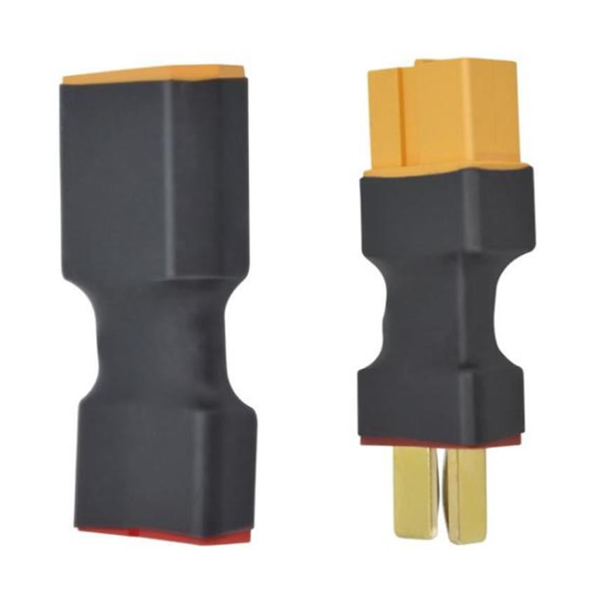 100pcs XT60 Female Male to T Female Male Plug Conversion Connector for Rc Lipo Battery Charger