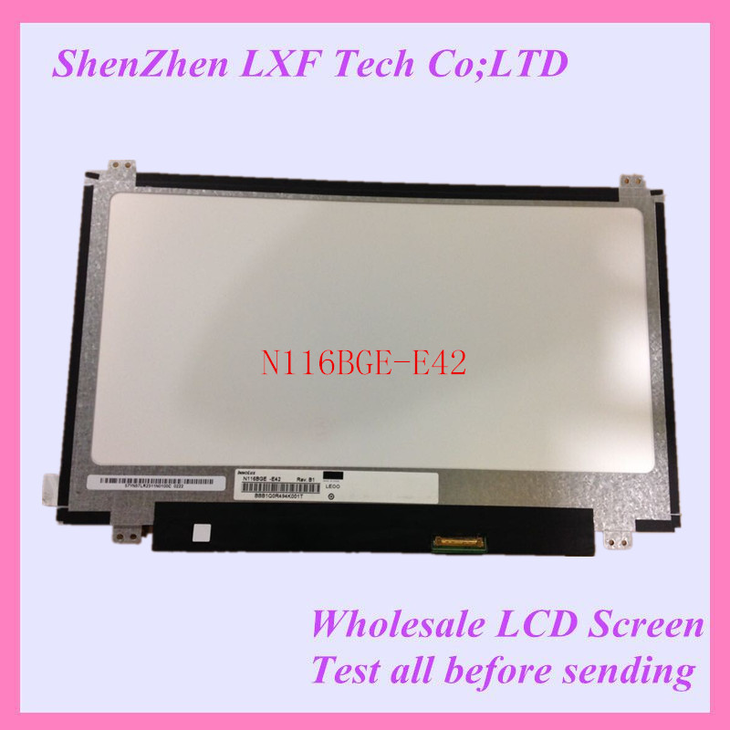 N116BGE-E42 For TOSHIBA LCD DISPLAY 11.6 LED screen Top & bottom screw hole