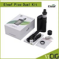 100 Original Eleaf Istick Pico Dual Kit With 2ML MELO III Mini Atomizer 200W VW TC