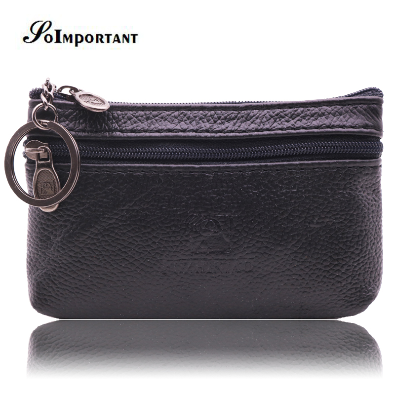 Fashion Genuine Leather Men Wallets Male Mini Coin Purse Fashion Men Small Wallet Purses Protomonee Credit Card Key Holder Walet baellerry top pu leather men wallets and purses coin purse man famous small short portomonee mini male purses card holder walet