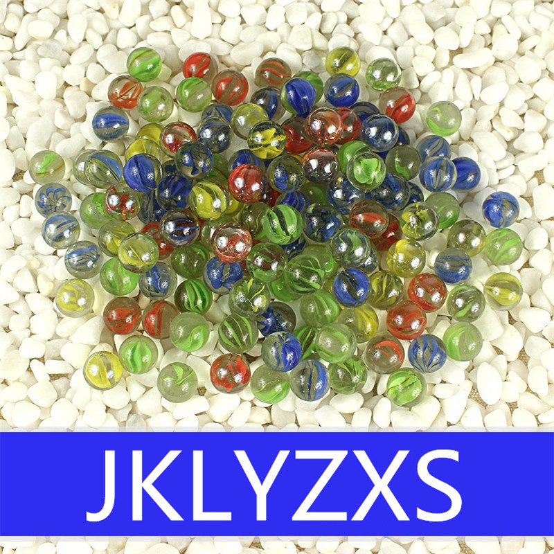 100% Brand New And High Quality. Big Size 25MM 20pcs Glass Marbles Glass Bead Marbles Children's Toys