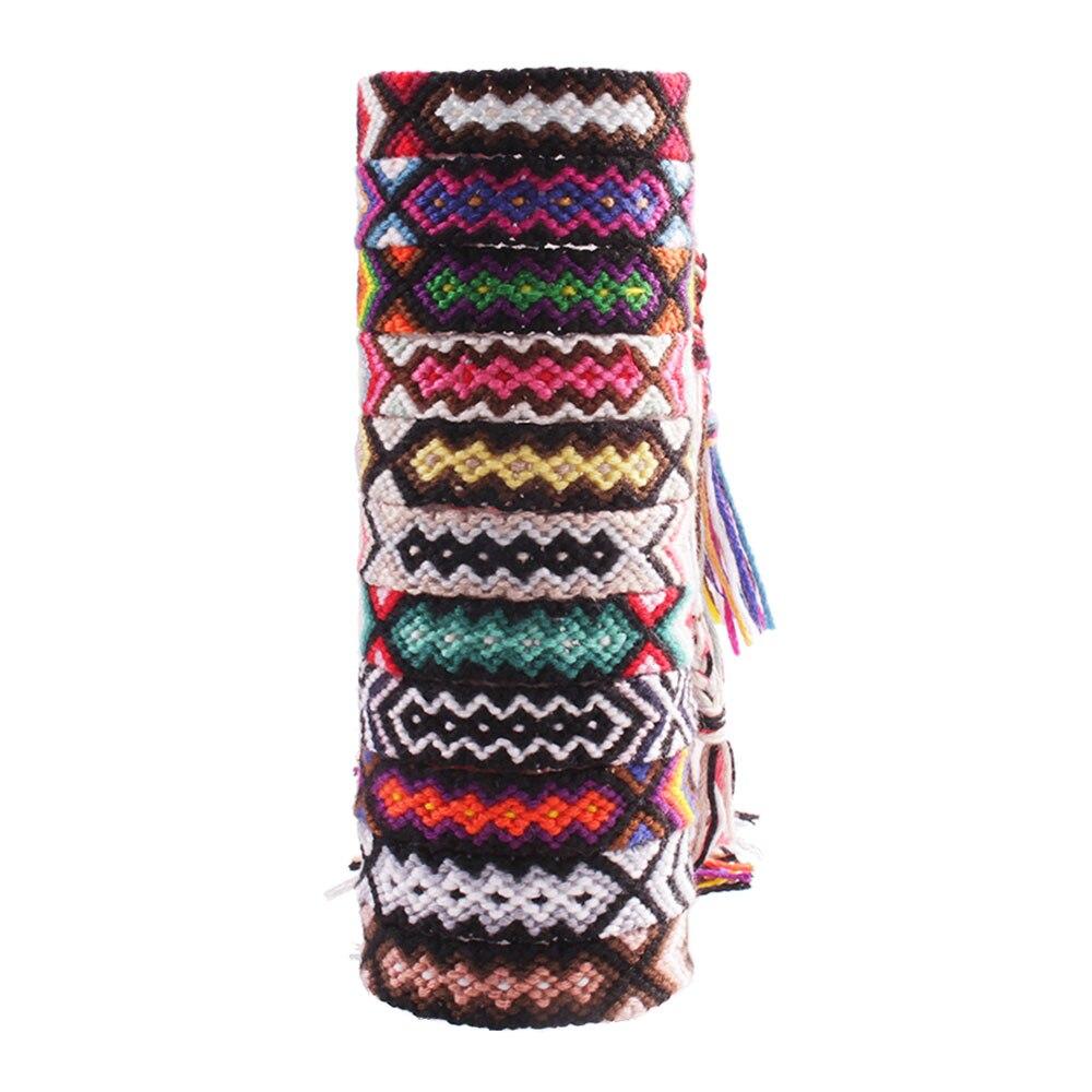 images détaillées chaussures authentiques vente au royaume uni Brazilian arrow friendship bracelet promise misanga wayuu embroidery thread  braided summer bracelet bresilien boho friend gift