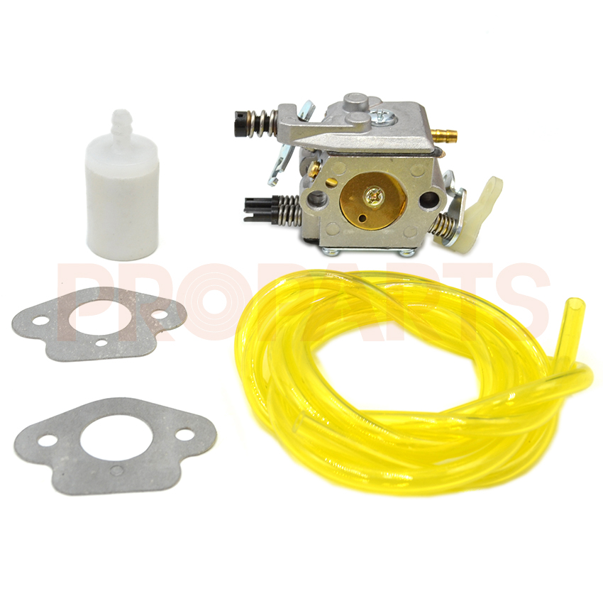 Carburetor Carb Fuel Filter Hose Line Gasket For Husqvarna 50 51 55 Chainsaw Parts high quality carburetor carb carby for husqvarna partner 350 351 370 371 420 chainsaw poulan spare parts walbro 33 29