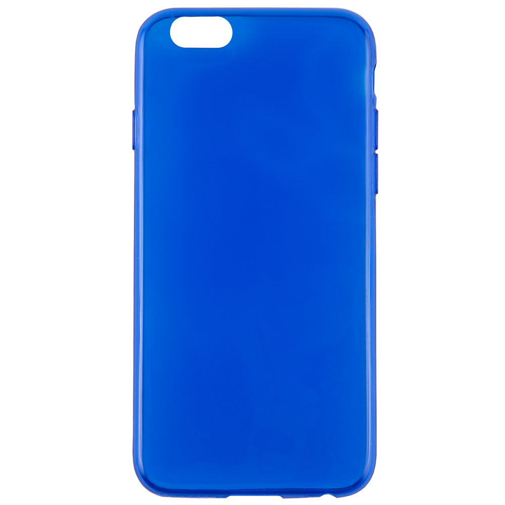 Mobile Phone Bags & Cases iBox case for iPhone 6 6s TPU blue UT000007358 nillkin hollow out ultra thin protective tpu back cover case for iphone 6 blue transparent