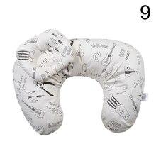 Newborn Baby U-shape Breastfeeding Pillow Multi-functional Nursing Pillow with Adjustable Belt
