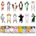 Pocket Monster Pikachu Pokemon Totoro Fox Cookie monster Elmo Lion Panda Unicorn Blue Stitch Cosplay Onesies Costume Pajamas