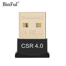 Bluetooth Adapter USB Dongle Bluetooth 4.0 Receiver for PC Computer Laptop Wireless Mouse Mini Bluetooth Transmitter Adapter(China)