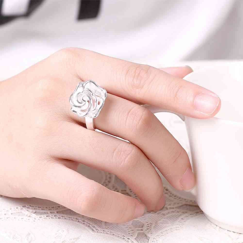 KITEAL Hot Selling silver plated size 7 8 Perfume women wedding ...