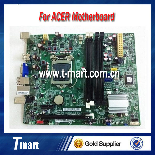 ФОТО 100% working For Acer H57D02 LGA 1156 Desktop Motherboard  fully tested