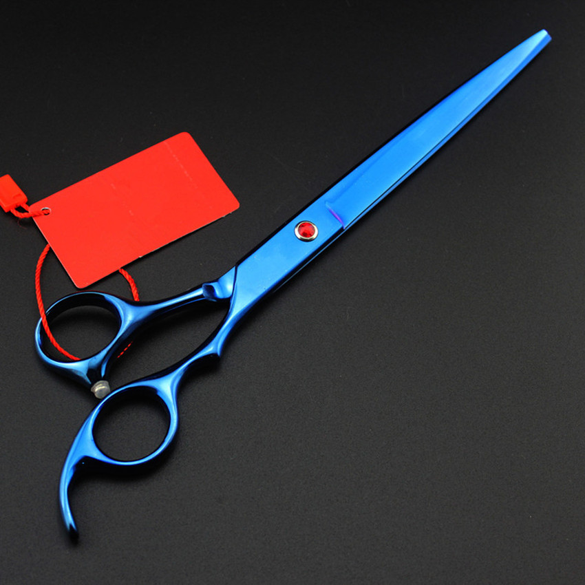 Personnalisé Japon 440c 8 pouces couleurs chien toilettage cheveux - Soin des cheveux et coiffage - Photo 4