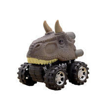 Animal Gift Toy Dinosaur Model Mini Toy Car Gift Pull Back Cars Toy Truck Hobby Funny Gift Drop Shipping Dinosaur Model(China)
