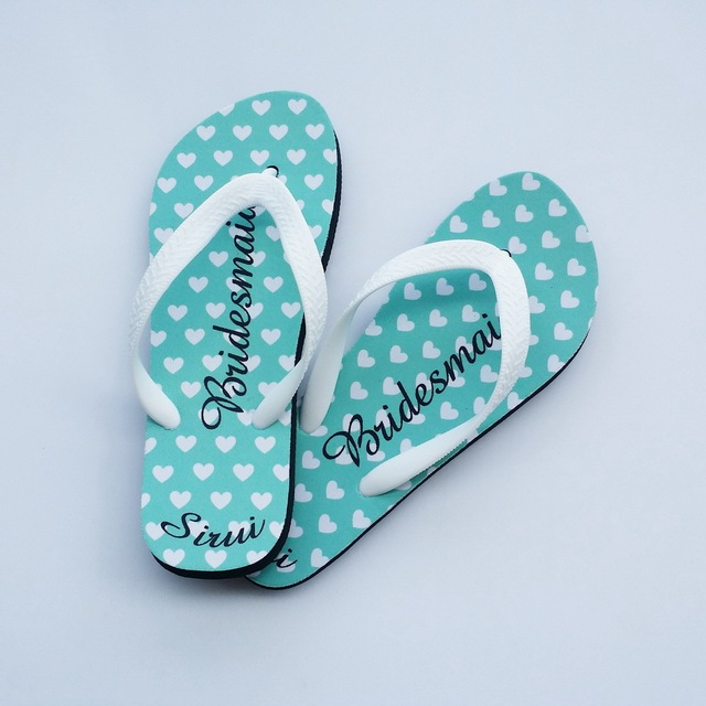 Put Your Own Design On Flip Flops Personalized Flip Flops For Beach Wedding
