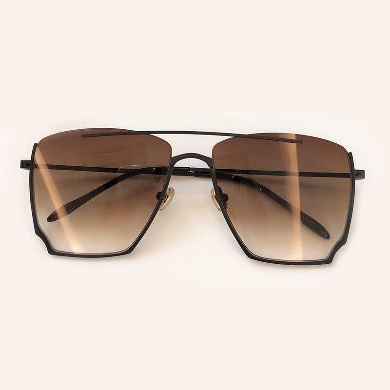 2019 Gafas Oculos Sunglases Sunglasses Rahmen Sunglasses no4 De Marke Retro Designer Für no3 no5 Sunglasses Sunglasses no2 Sol Sonnenbrille Vintage Sunglasses Legierung Frauen Sunglasses no6 Quadrat No1 AxfI7p