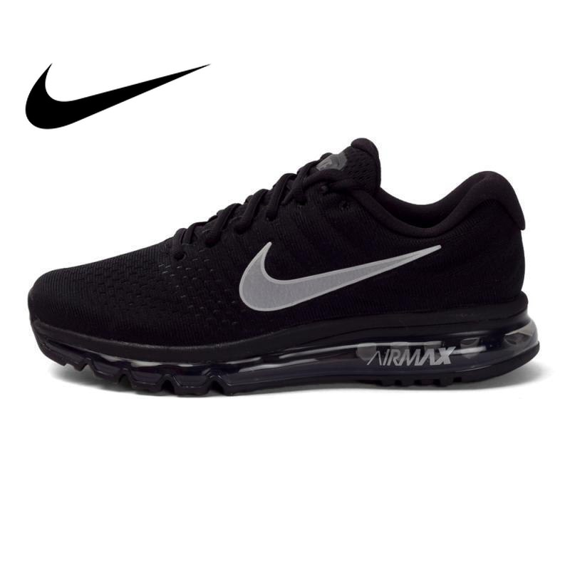 00e6e02440d04 Original NIKE AIR MAX Men Low-cut Running Shoes Walking Jogging Sneakers  Comfortable Stability Breathable