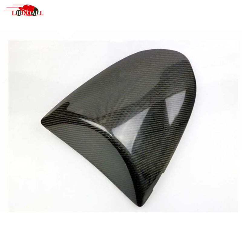цены High Quality Carbon Fiber Rear Seat Cowl Cover Rear Seat Cowling For Kawasaki Ninja ZX6R 2005-2006 New Motorcycle Accessories
