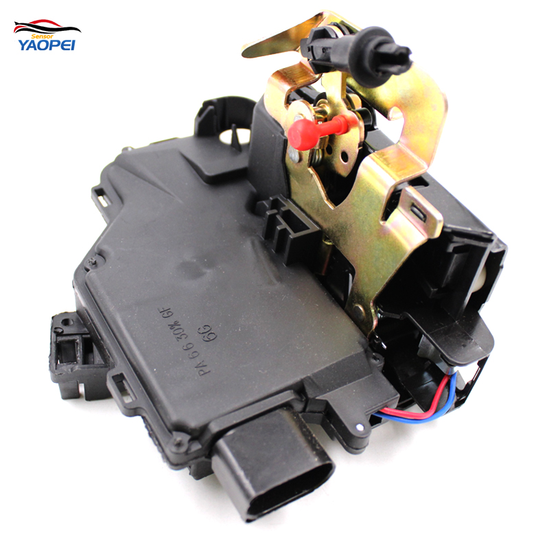 YAOPEI New Front Left Side Door Lock Latch Actuator For Audi A4 A6 4B C5 8E 4B1837015G actuator for k04 53049880028 077145703p 077145703pv turbo turbochager for audi rs6 c5 left side 2002 2004 year 450hp bcy biturbo