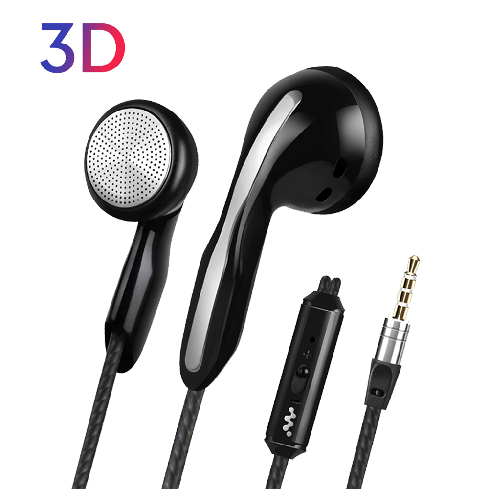 Image 5 - In Ear Earphone For Phone 3.5mm Stereo Headset Game Earphone Wired Headphone Hedset With Mic Earbuds Smartphone Earphones-in Headphone/Headset from Consumer Electronics