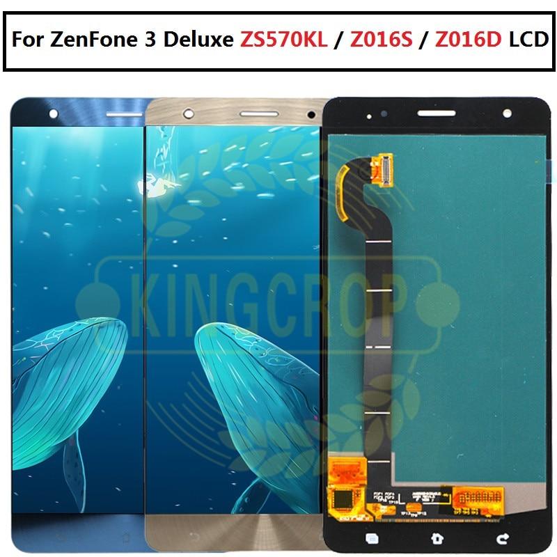 Voor asus ZS570KL Lcd scherm voor Zenfone 3 Deluxe Z016S Z016D ZS570KL Lcd scherm en Touch Screen Digitizer Vergadering-in LCD's voor mobiele telefoons van Mobiele telefoons & telecommunicatie op AliExpress - 11.11_Dubbel 11Vrijgezellendag 1