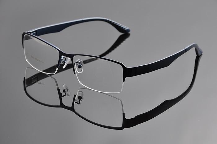 2015 Metal Bigger size Frame Mens Half Frame big head Optical Frame eyeglasses Oversized Eye Glasses For wide face Men DD0934