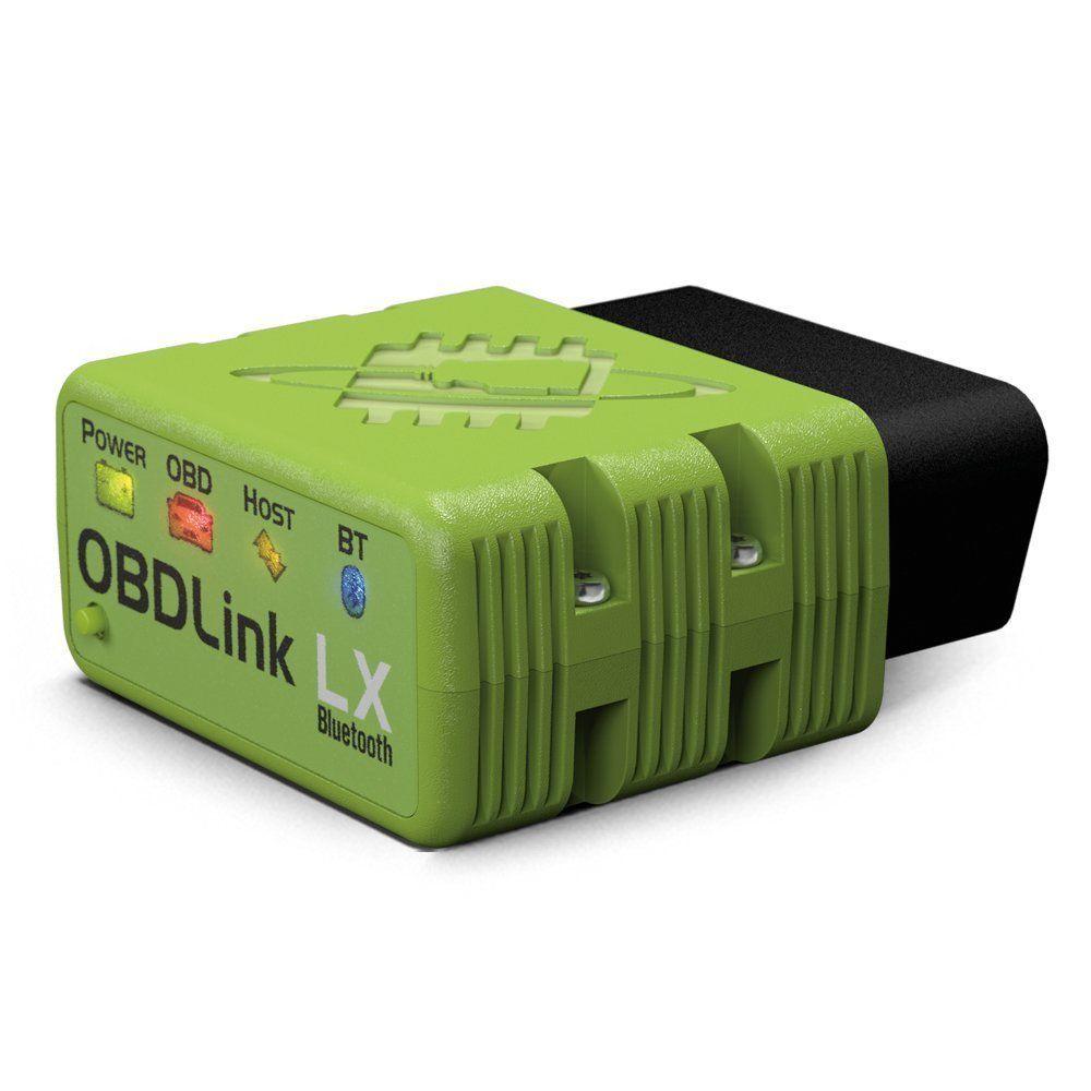 OBDLink LX Bluetooth: Classe Profissional OBD2 Automotive Scan Tool para Carro e Caminhão de diagnóstico de Dados do Windows e Android DIY