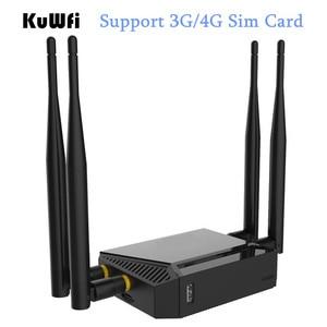 Image 4 - Haute puissance OpenWrt 300Mbps routeur sans fil 3G/4G Wifi routeur Wifi répéteur via mur AP Mode routeur avec emplacement pour carte SIM