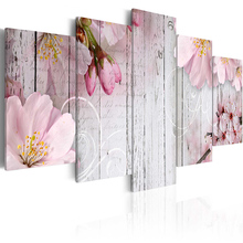 Wholesale Home Decorative Wall Decor Flower series Painting Art Silk Picture wall pictures for living room PJMT-B (348)
