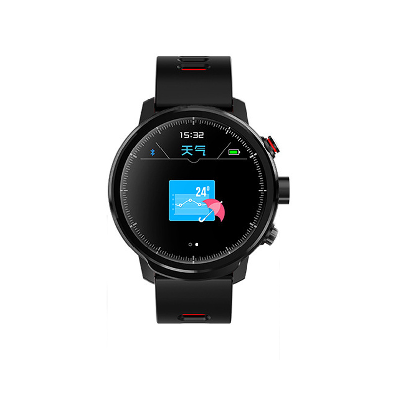 <font><b>L5</b></font> <font><b>Smart</b></font> <font><b>Watch</b></font> <font><b>Men</b></font> <font><b>IP68</b></font> Waterproof Bluetooth Fitness Tracker Multiple Sports Mode Message Call Standby 100 Days Smartwatch image