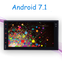 Android 7.1 Touchscreen Car PC Tablet double 2 din GPS Car Stereo Radio vw/toy/mazad Wifi 3G Car Audio No DVD MP3 player