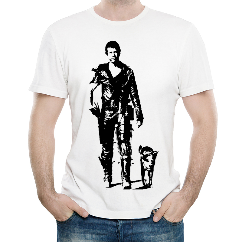 Mad Max T Shirt Casual Mens Fashion Short Sleeve Movie Mad Max T shirt Tops Tees tshirt White T shirt For Unisex in T Shirts from Men 39 s Clothing
