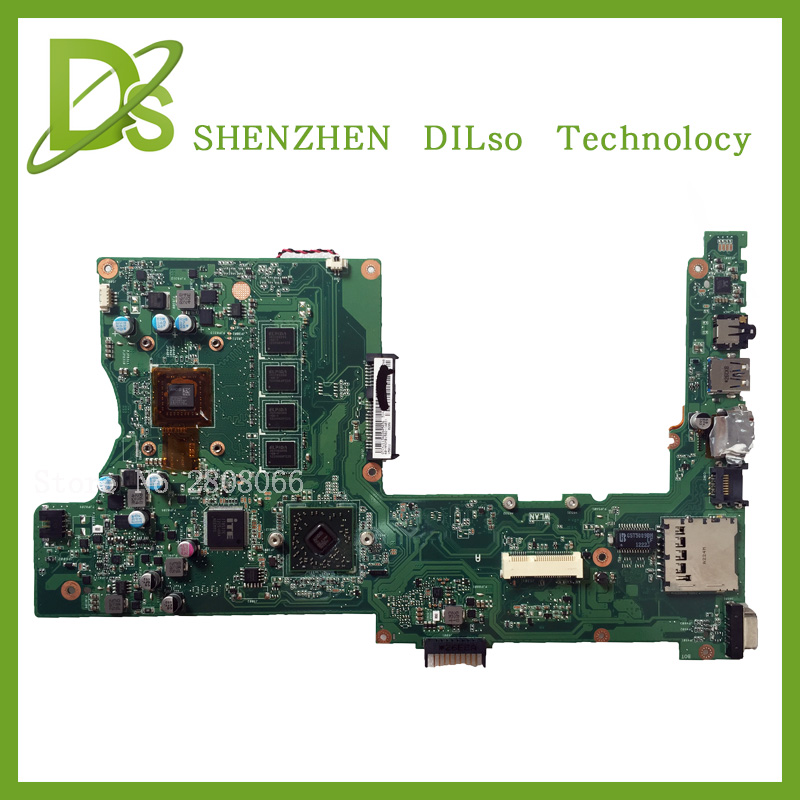 KEFU X401U-M3 For ASUS X401U X501U Laptop motherboard X401U-M3 cpu onboard  X401U mainboard 4G/2G RAM 100% tested asus p5kpl se desktop motherboard p31 socket lga for 775 core pentium celeron ddr2 4g atx uefi bios original used mainboard