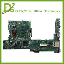SHUOHU X401U M3 For ASUS X401U X501U Laptop motherboard X401U M3 cpu onboard X401U mainboard 4G