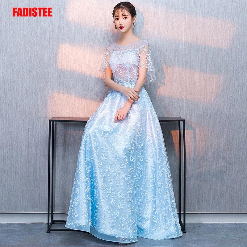 FADISTEE New arrival evening elegant prom dresses Vestido de Festa gown Robe De Soiree lace A