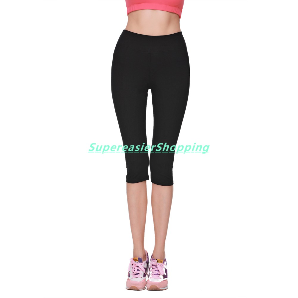 Popular Black Skinny Capris-Buy Cheap Black Skinny Capris lots ...