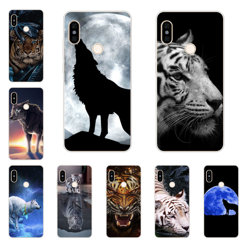 xiaomi mi mix 3 Case,Silicon tigon beast Painting Soft TPU Back Cover for xiaomi mi mix 3 Protect Phone cases