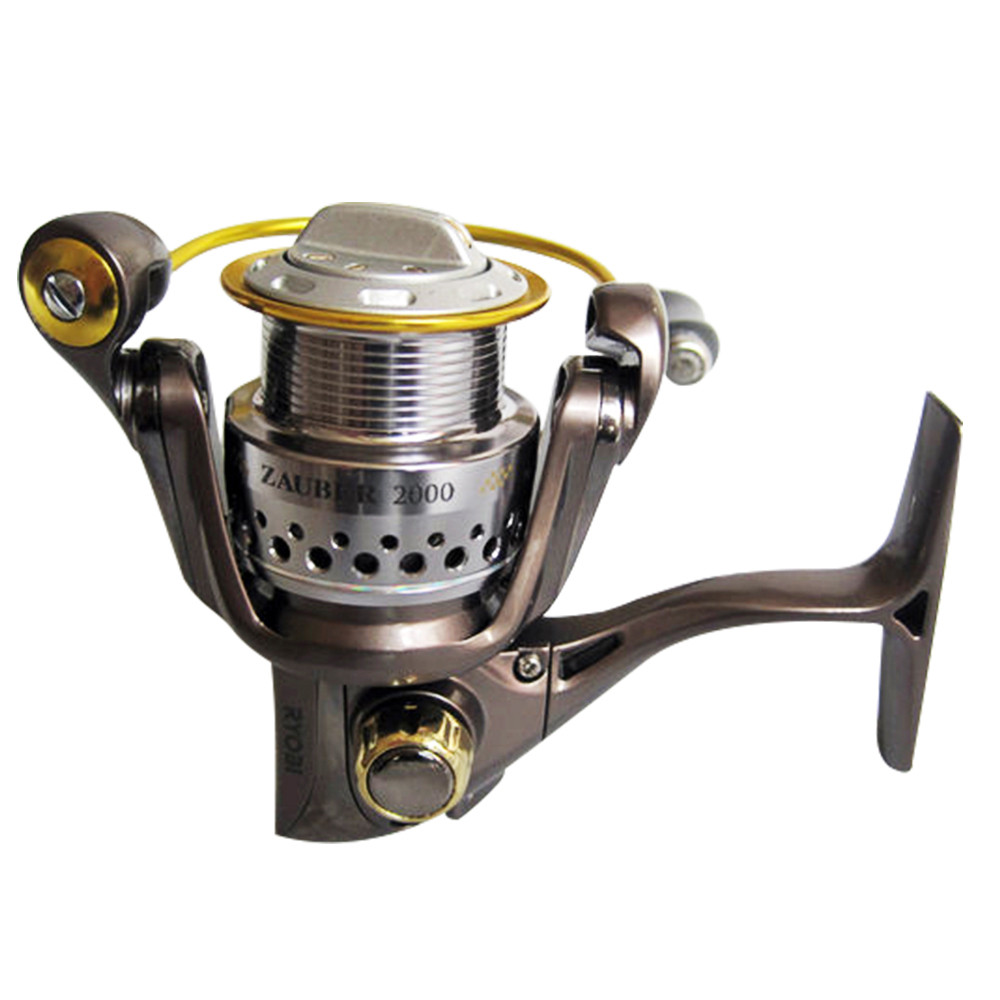 USPS RYOBI ZAUBER Professional Fishing Reel High Speed 5.1:1 Aluminum Body Rotor Ultra Smooth 8+1 BB Spinning Fishing Reel #11 professional spinning fishing reel