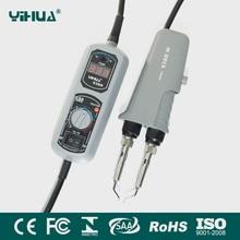 YIHUA 938D пайки SMD Пинцет Ремонт паяльная станция электрическое отопление плоскогубцы постоянная температура нагрева 110 В/220 В ЕС /США Plug