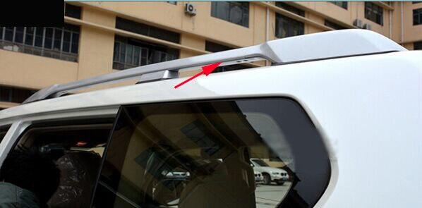 For toyota Land Cruisr Prado FJ150 FJ 150 Silver Color Roof Rails Rack Luggage Carrier Bars 2010 2011 2012 2013