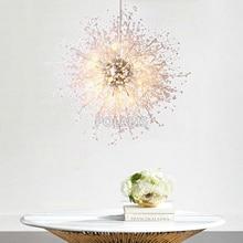 Moderna iluminação do candelabro de cristal acrílico lustres iluminação pingente pendurado luz lustres de cristal lâmpada casa luz