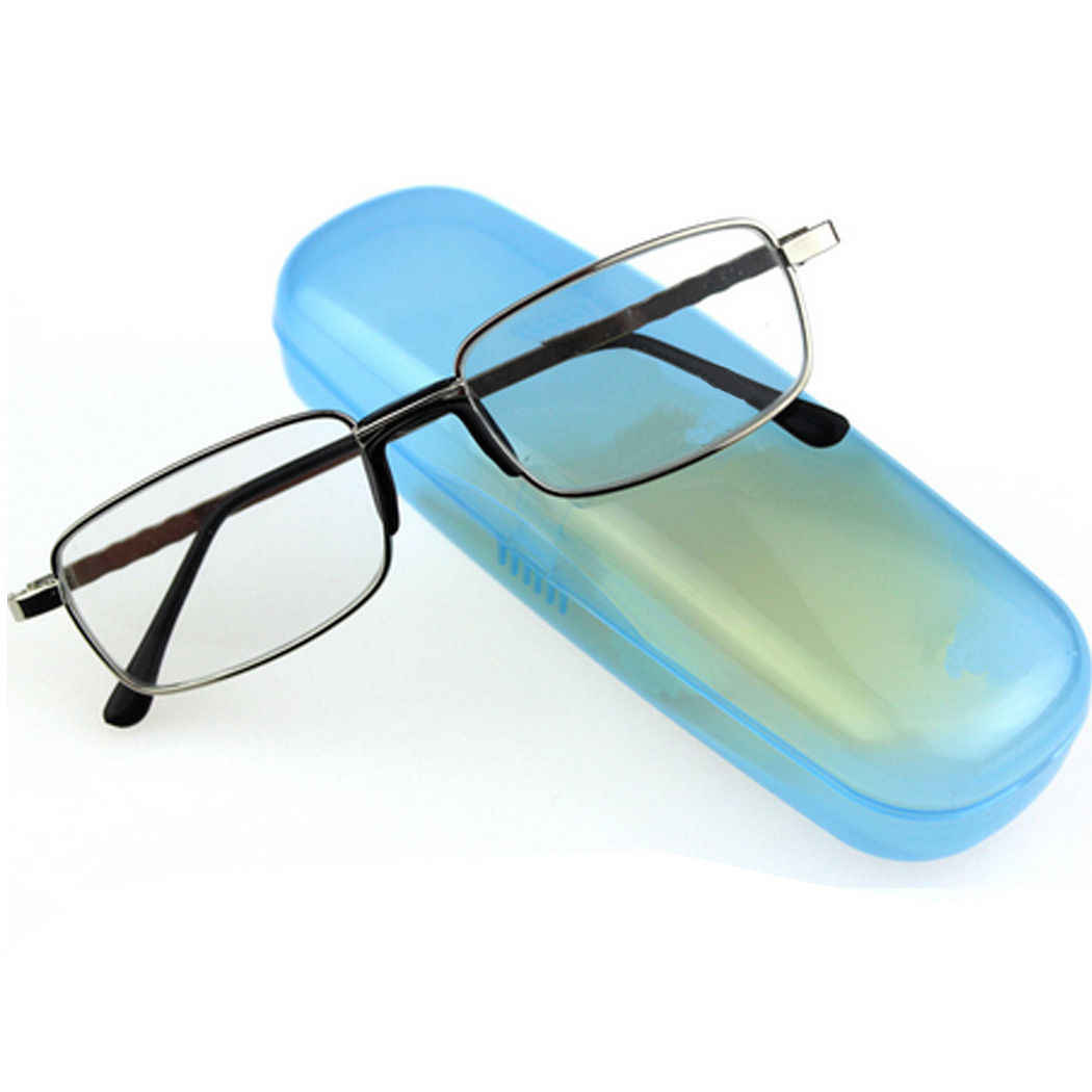 6f4a590c3a80 ... Stylish Unisex Men Women Eyeglasses Coating Full-frame Reading Glasses  Spectacles Reader Metal With Case ...