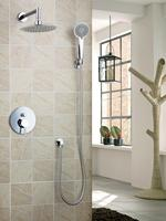 Ouboni Shower Set Torneira Good Quality 8 Shower Head Bathroom Rainfall 50236 42A Bath Tub Chrome