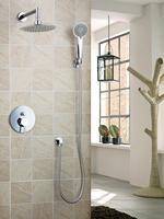 Ouboni Shower Set Torneira Good Quality 8 Shower Head Bathroom Rainfall 50236 42A Bath Tub Chrome