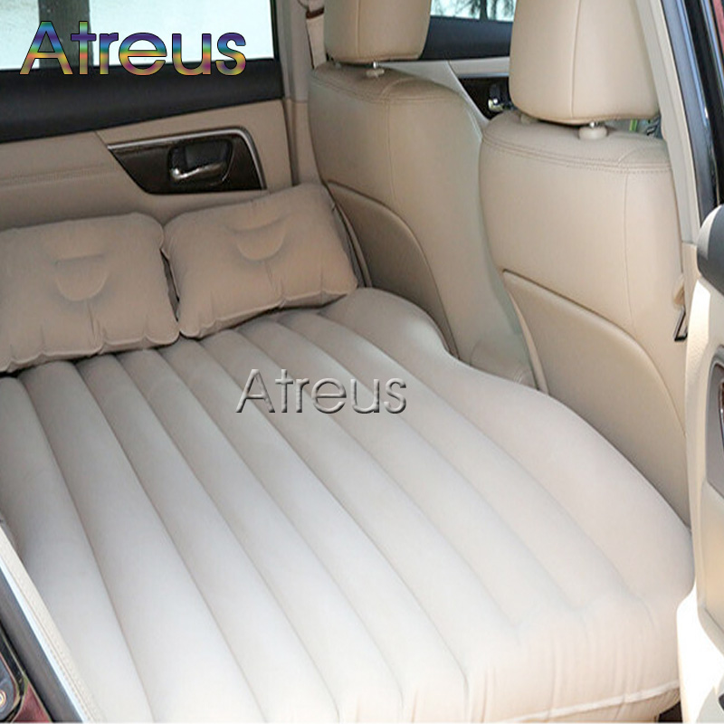 Inflatable Car Bed for Back Seat Auto Covers for Bmw Ford Focus Toyota Volkswagen <font><b>Mercedes</b></font> Audi Solaris Car styling Accessories image