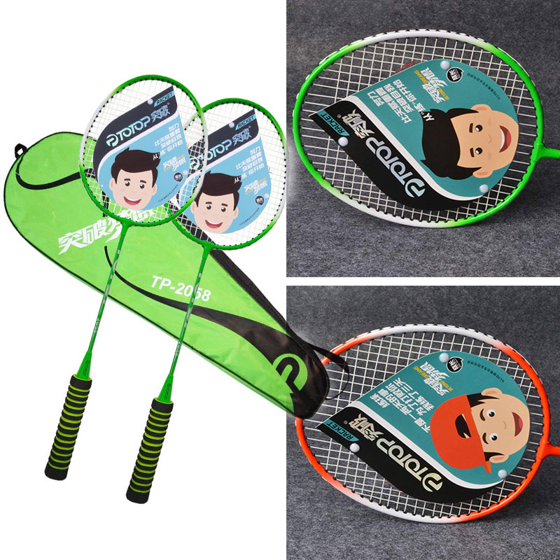 Ferroalloy Badminton Court Professional Sports Racket Lightweight School Game Movement Sporting Goods Toys Nylon Dropshipping