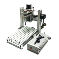 3axis 4axis DIY cnc metal engraving machine 3020 cnc milling router 3020 400W with USB port