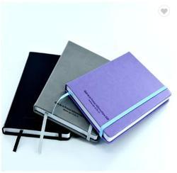 2019 Academische A5 Hard Cover Logo Aangepaste Pocket Notepad Pu Lederen Dagboek Note Book Custom Hardcover Planner Journal
